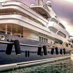 boat, yacht, port